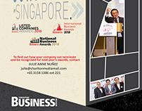 Singapore Business Review Awards 2017 Ad