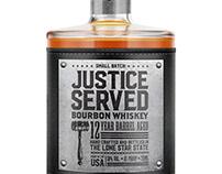 Justice Served Bourbon Whiskey Design