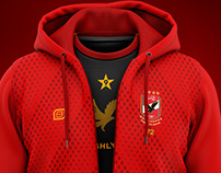 AHLY SC red jacket
