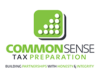 Common Sense Tax Preparation Logo