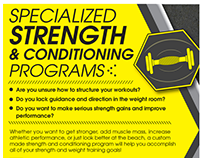 SAC Fitness Programming: Specialized Strength...