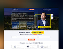Kyna.vn - Lead Form Landing Page