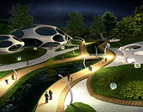 Design project of reconstruction of the park