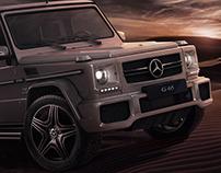 Mercedes Benz G65- CGI
