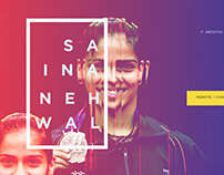 Daily UI Design /Saina Nehwal / Profile Design