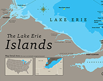 The Lake Erie Islands Map