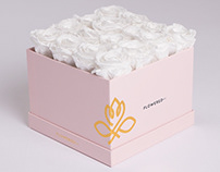 Flowered&Co. | Brand Identity, Packaging