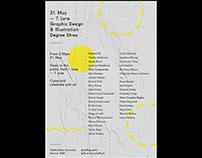 2019 Graphic Design & Illustration Show Promotion