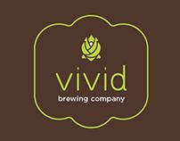 vivid brewery branding