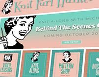 Knit Purl Hunter Website