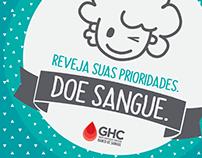 Campanha - Doação de Sangue GHC
