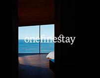 Onefinestay - UI Design