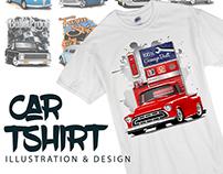Car ShirtIllustraion & Design