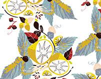 Lemon Balm - Surface Pattern