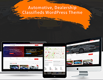 Automotive wordpress theme– carspot