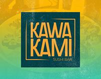 KAWAKAMI SUSHI BAR | NOVA identidade visual