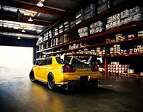 3D Render - Nissan GTR - R34