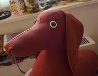 Dachshund weiner dog. Sausage dog