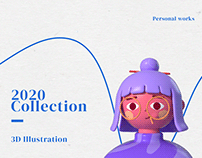 2020 Collection - 3D Illustration vol. 01