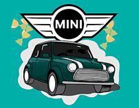 Mini Cooper infographic