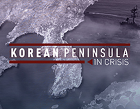 Korean Peninsula in Crisis Coverage Branding