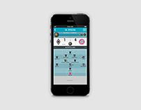 sport1.fm - sports radio app additional design