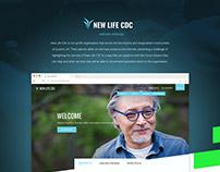 New Life CDC Website Redesign