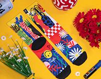 Wonderland socks