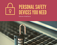 Steven Andiloro | Personal Safety Devices You Need