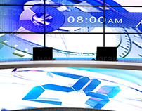 Set Designs Done for channel 24 news