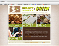 Birchtree Catering Website Page Design