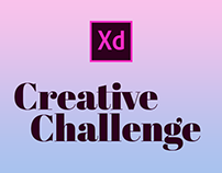 Adobe XD Creative Challenge March 2-13