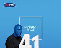 TIM Brazil - Landing Page/Web