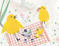Tengo dos nidos - Libro ilustrado