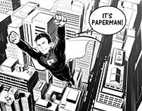PAPERMAN-comic