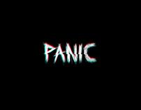 Panic - Horror films festival Branding