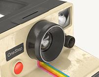 Polaroid OneStep | Full CGI