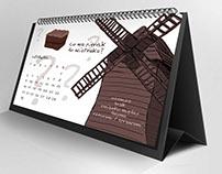Projekt kalendarza z przysłowiami