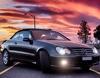 2010 Mercedes Benz CLK 350