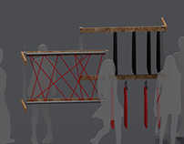 Display for clothes concept