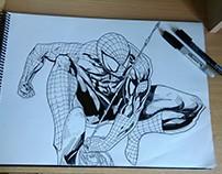 Dibujo de Spider Man!