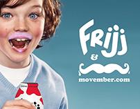 Frijj Milkshakes & Movember