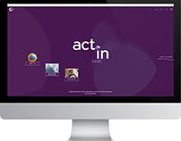 The actinsarc.com Web Experience.