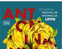 ANTONINA Cartaz-Catálogo do Festival de Inverno da UFPR