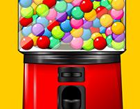 Gumball Machine: Game Asset Development