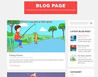 Blog and Blog Single Page