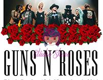 Camisa Personalizada Guns N' Roses Tour 2016