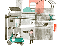 Editorial Illustration-LaVie
