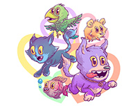 Pets illustration