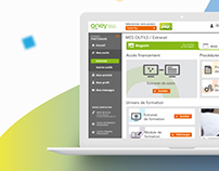 Extranet webdesign Oney Banque Accord
